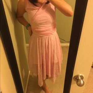 Butterfly Asymmetrical Dress